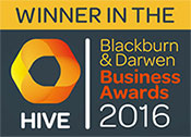 Winner - Hive Business Awards 2016